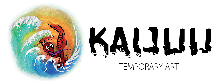 Kaijuu Temporary Art Logo